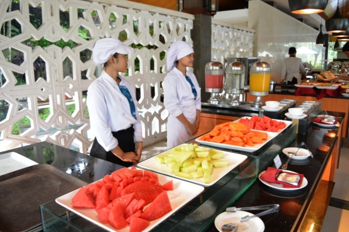 Breakfast Puri Asri Resort (1)